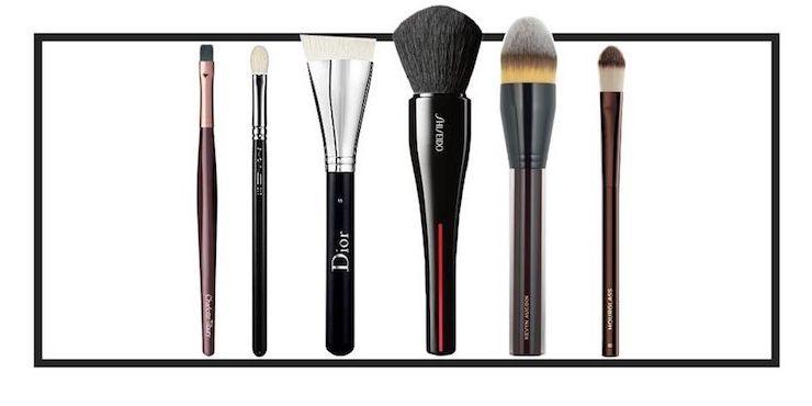 Кисти для макияжа:  шесть основных аксессуаров для ежедневной бьюти-рутины