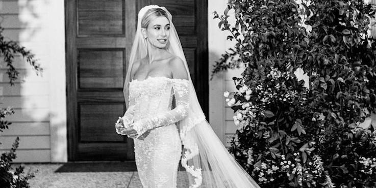 Хейли Бибер и ее свадебное платье раскритиковали