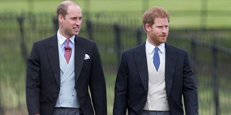 Принц Уильям беспокоится за брата