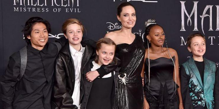 Анджелина Джоли: «Дети помогли мне выкарабкаться»