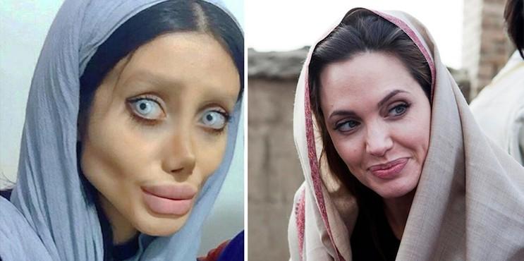 Сахар Табар: в чем обвиняют двойника Анджелины Джоли?