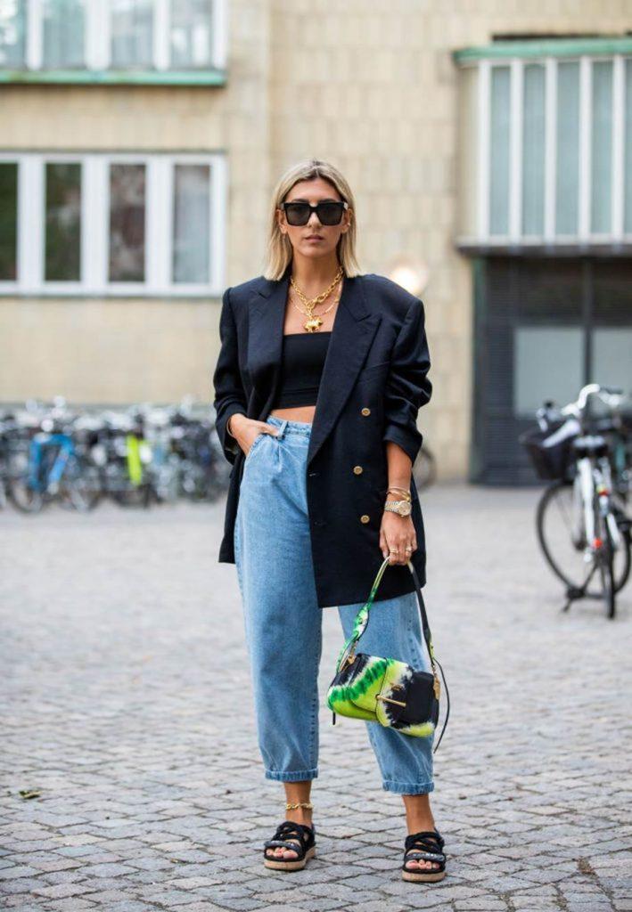 Как выглядеть худее с помощью одежды?