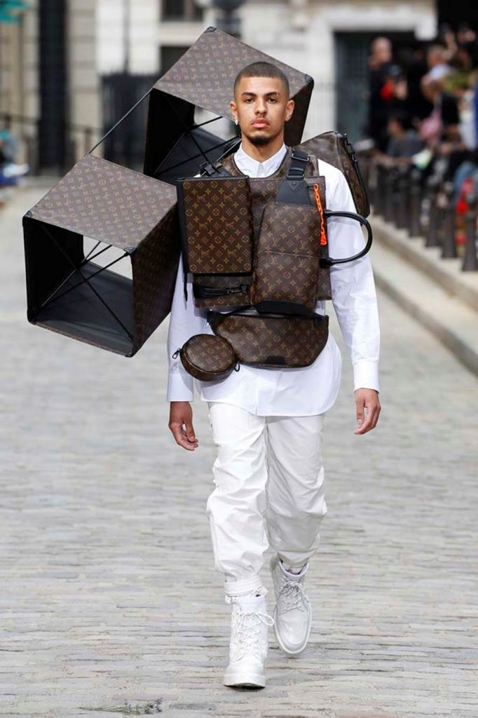 Louis Vuitton Menswear, весна-лето 2020
