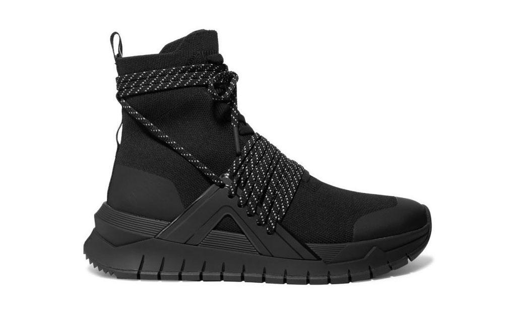 Осенние ботинки Balmain на шнуровке