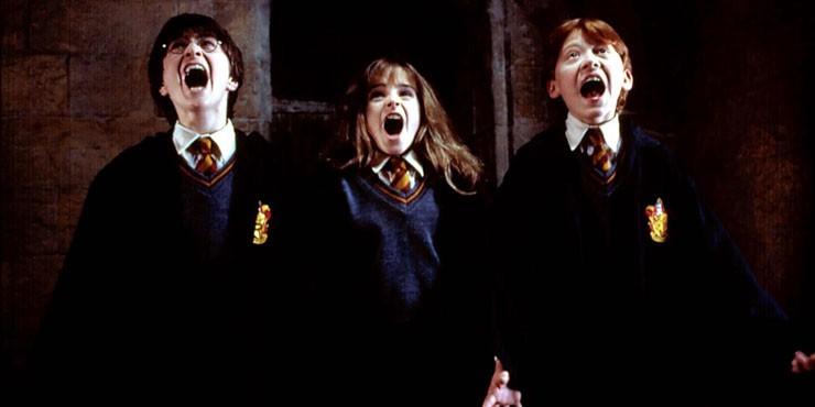 Гарри Поттер и философский камень: кадры со съемок, которые вы еще не видели
