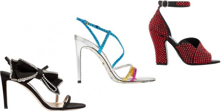 Праздничные туфли: 15 вариантов для новогодних вечеринок