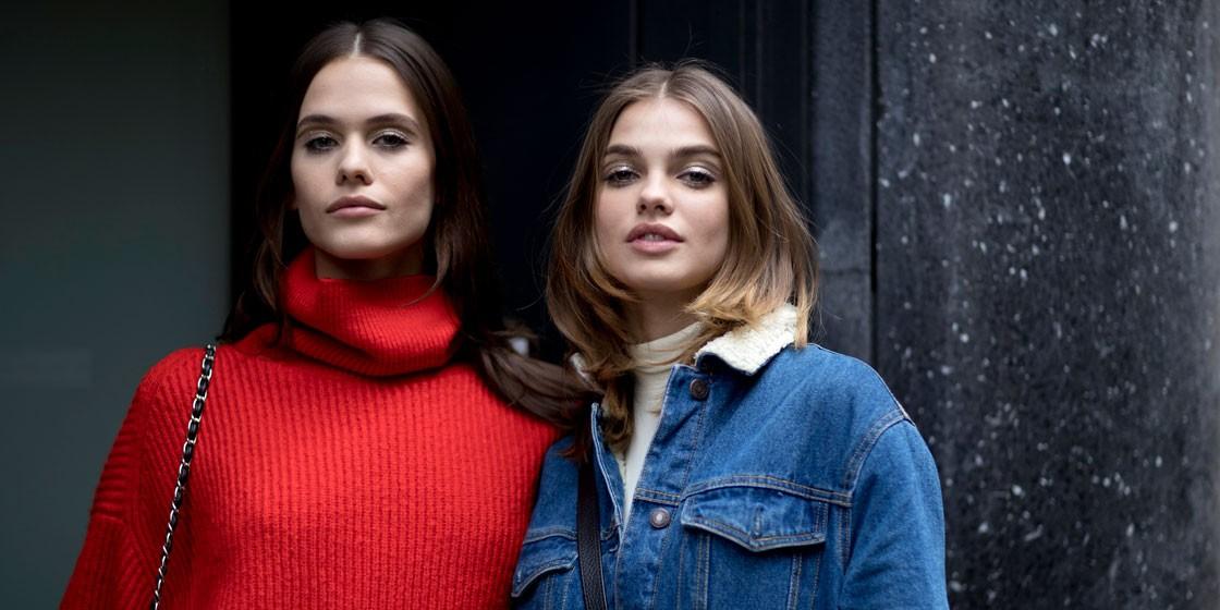 10 способов модно носить свитер этой осенью