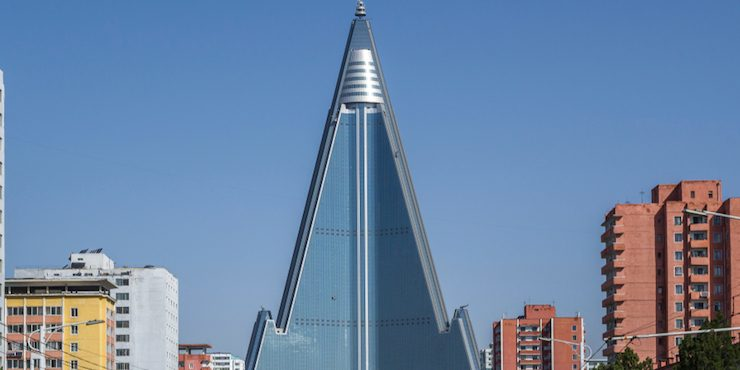 История отеля Ryugyong, в котором никогда никого не было