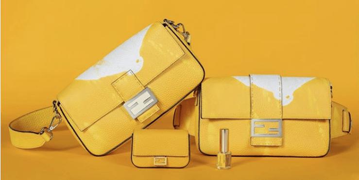 Сумки Fendi теперь можно использовать вместо парфюма