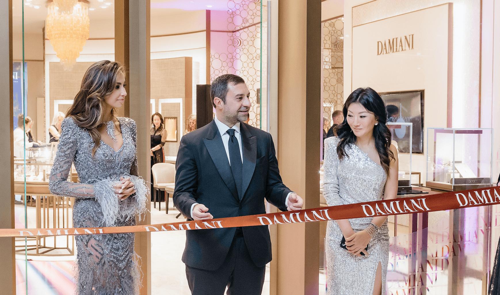 Гала-вечер в честь открытия бутика Damiani в Talan Gallery