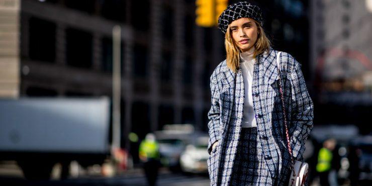 12 способов носить платье зимой и не мерзнуть