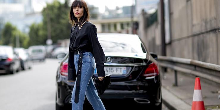 Тренд: джинсы-варенки