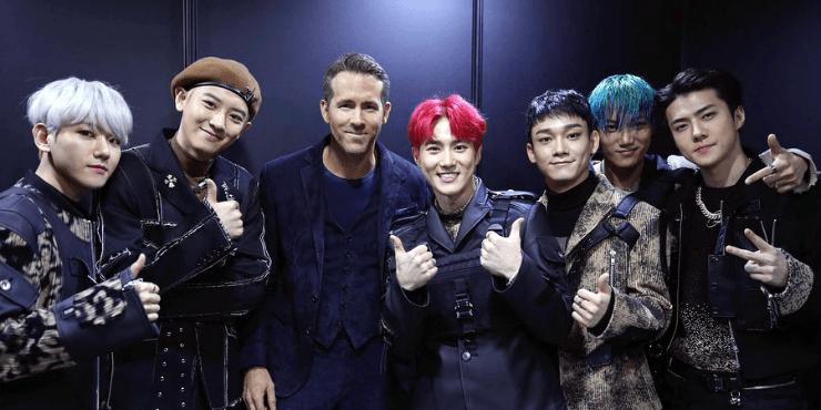 Райан Рейнольдс и EXO: актер стал к-поп айдолом?