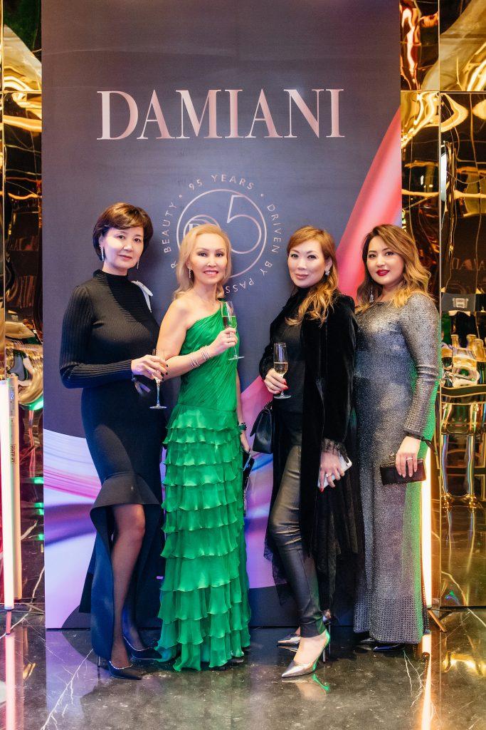 Дина Ахметова, Жанара Калиева, Майя Куандыкова и Бибигуль Ардан