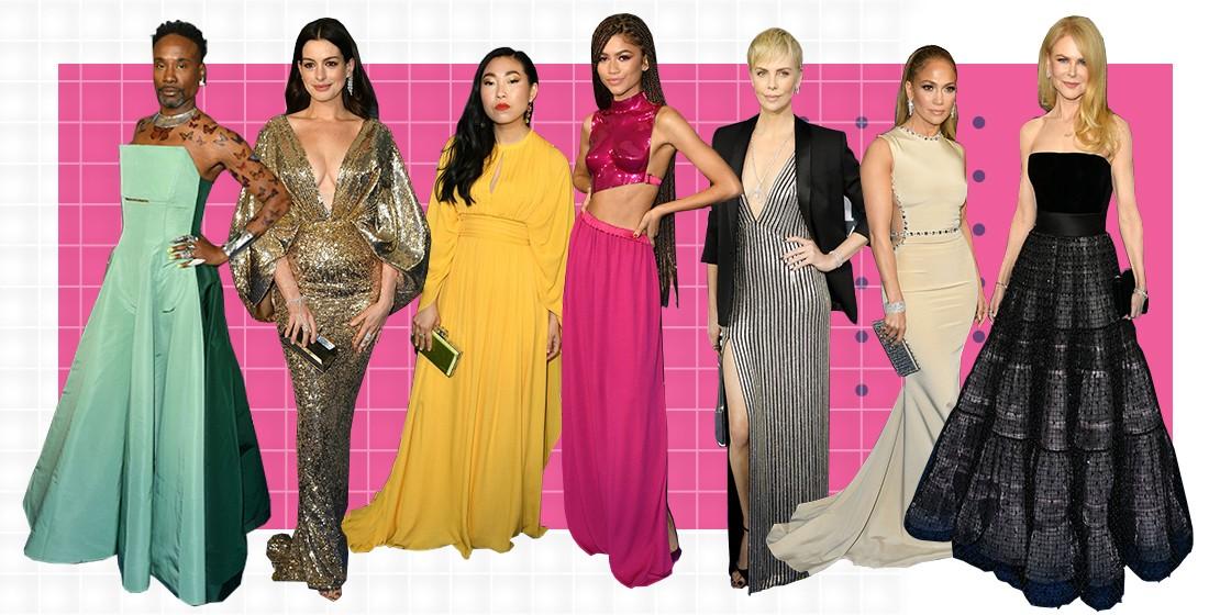 Самые модные наряды с Critics' Choice Awards