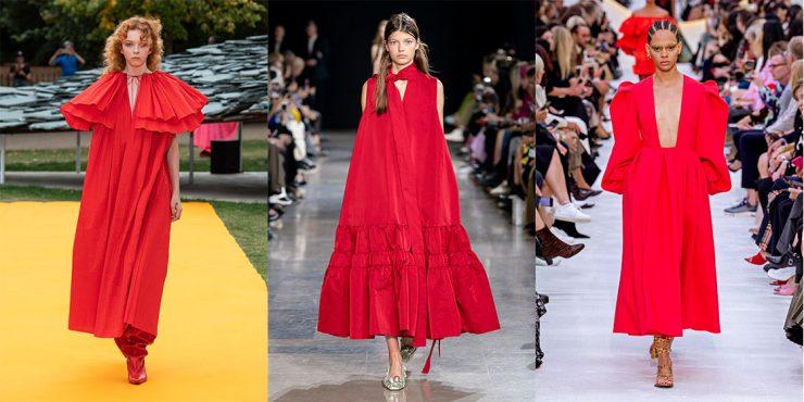10 романтичных платьев на День святого Валентина