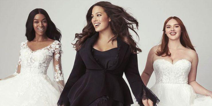 Эшли Грэм выпустила коллекцию свадебных платьев больших размеров