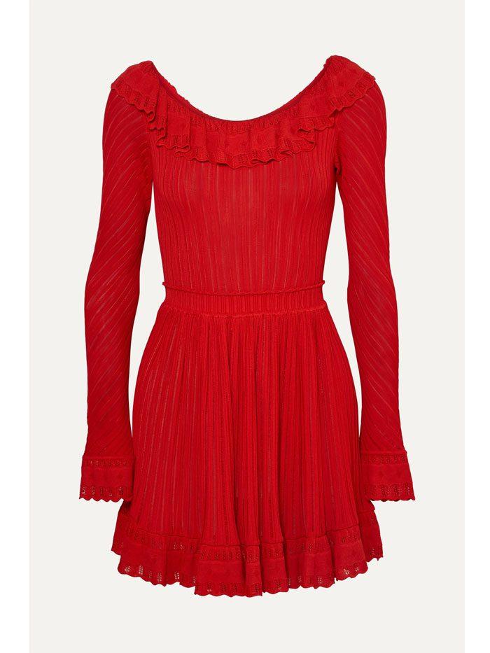 красные платья
