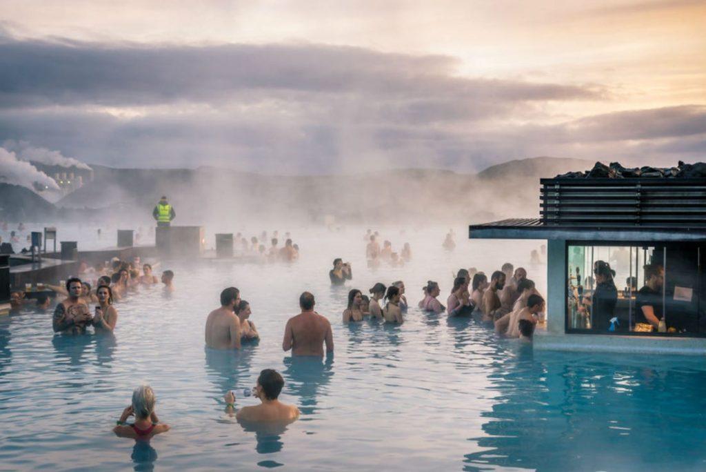 Исландия вода