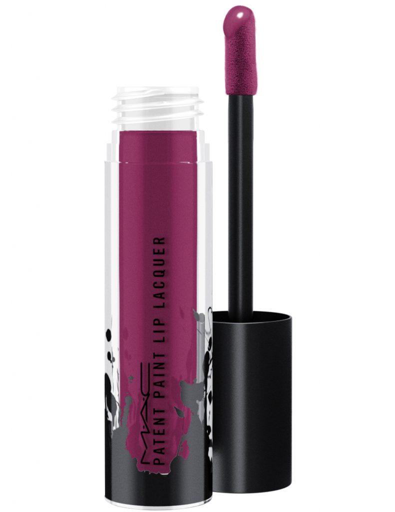 M.A.C представил новую коллекцию блесков-лаков для губ Patent Paint Lip Lacquer