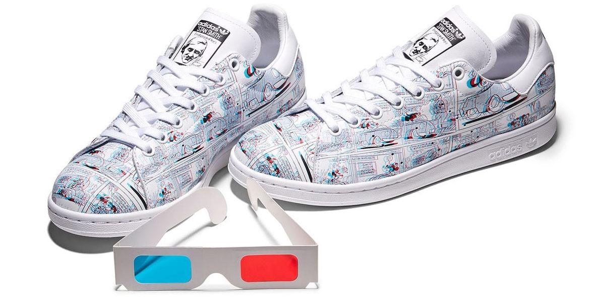 adidas выпустили коллекцию к китайскому Новому году, увидеть которую можно только в 3D очках
