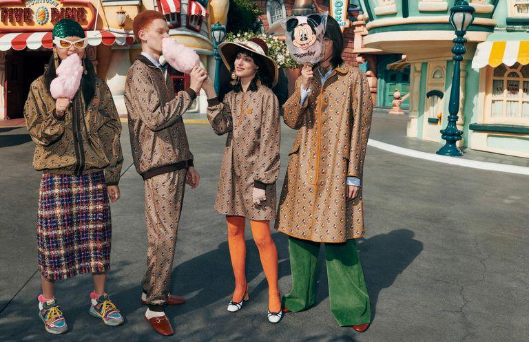 Gucci выпустили коллекцию, посвященную Микки Маусу
