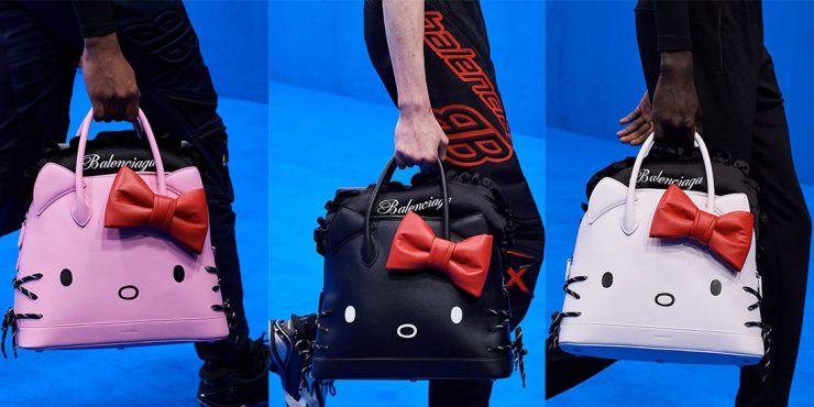 Сумка Hello Kitty от Balenciaga наконец поступила в продажу