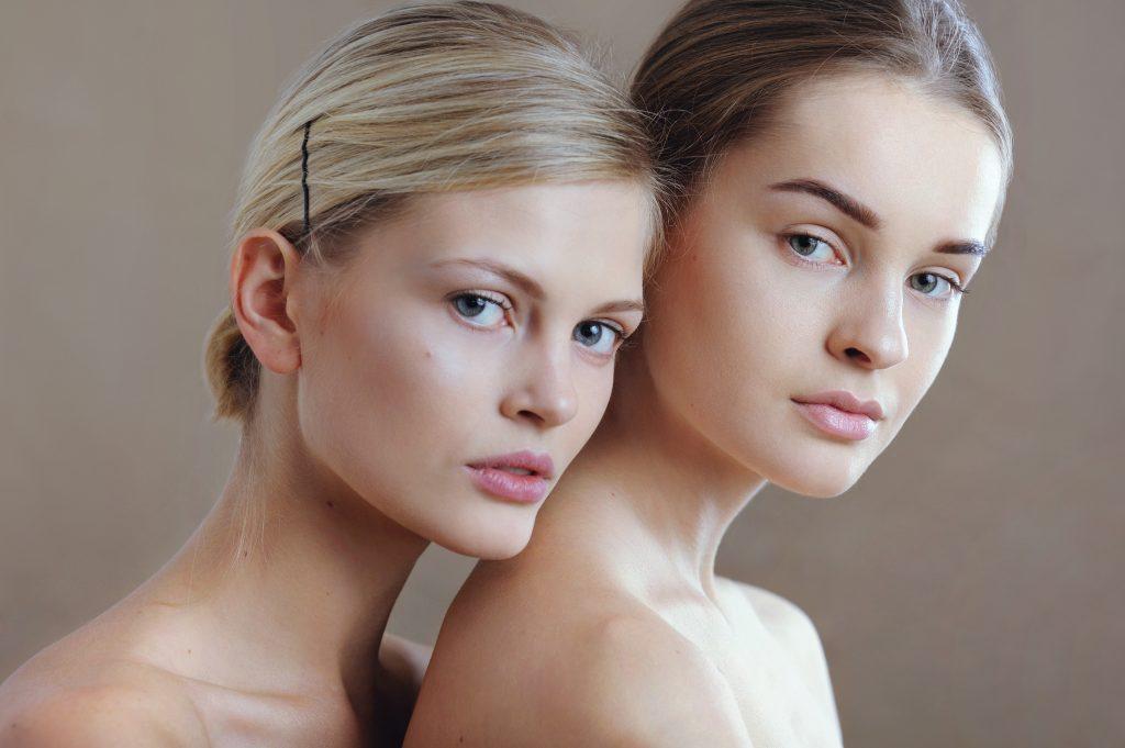 быстрый макияж нюдовый