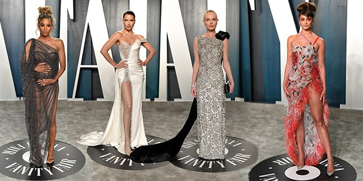 Самые красивые платья с вечеринки после «Оскара»