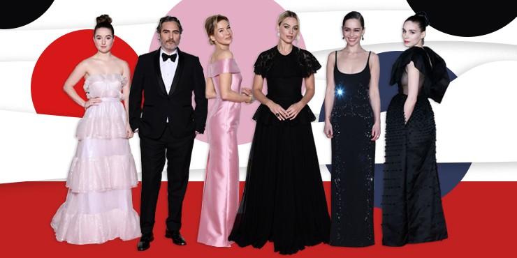 Красная дорожка BAFTA 2020