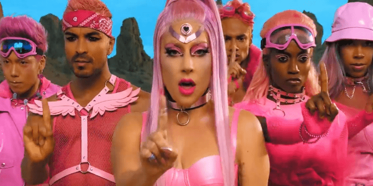 Леди Гага представила первый за три года клип