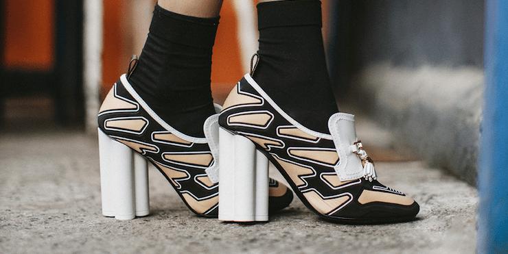 Первый взгляд на новую коллекцию обуви Louis Vuitton