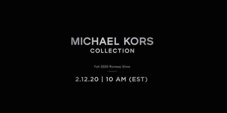 Прямая трансляция показа Michael Kors Collection
