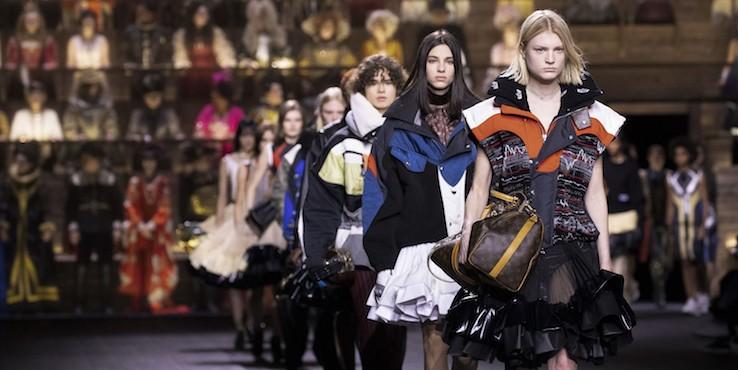 Столкновение времени в новой коллекции Louis Vuitton