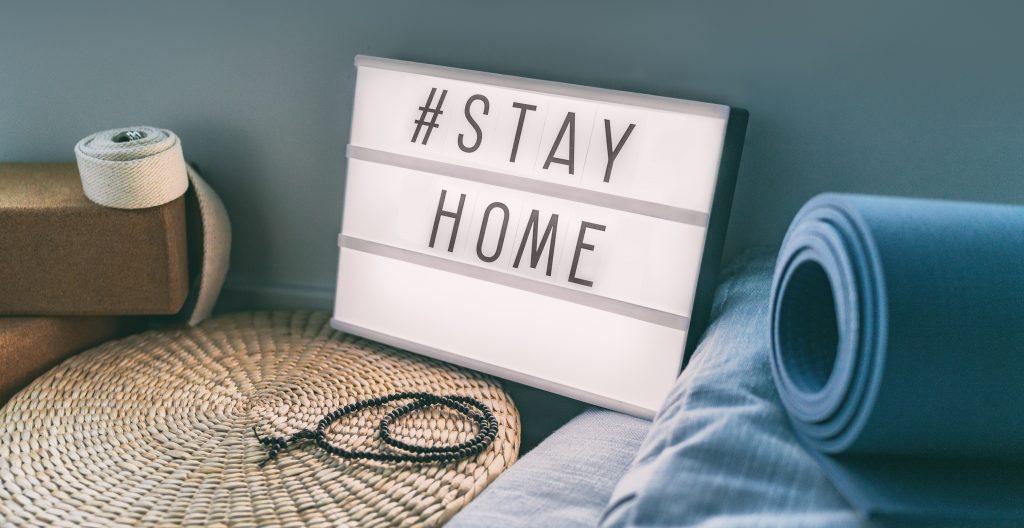 оставайтесь дома и тренируйтесь