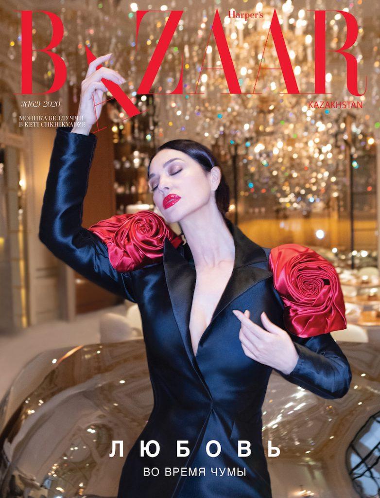Моника Беллуччи на обложке Harper's BAZAAR Kazakhstan.