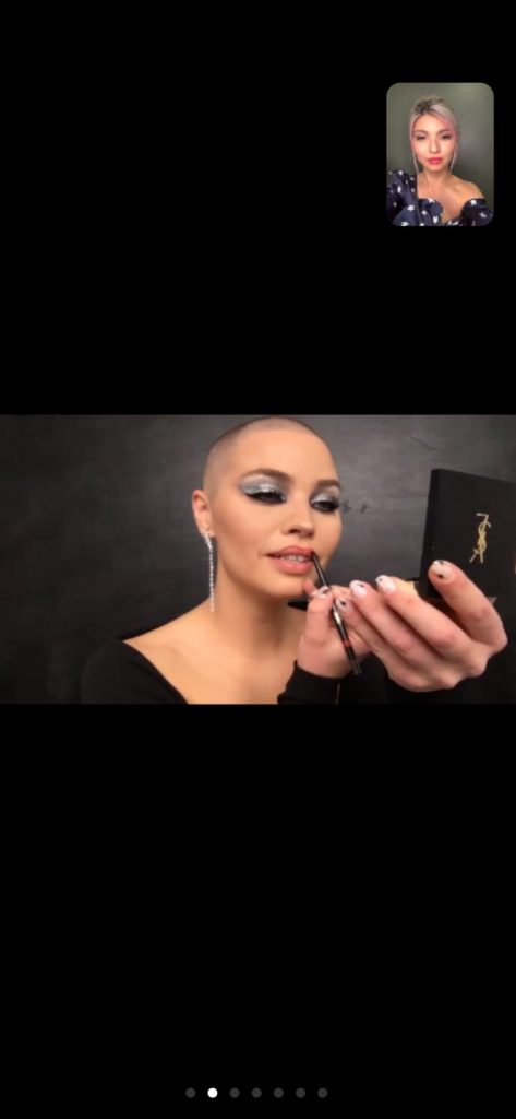 YSL Beauté устроили виртуальную вечеринку YSL Beauty Club