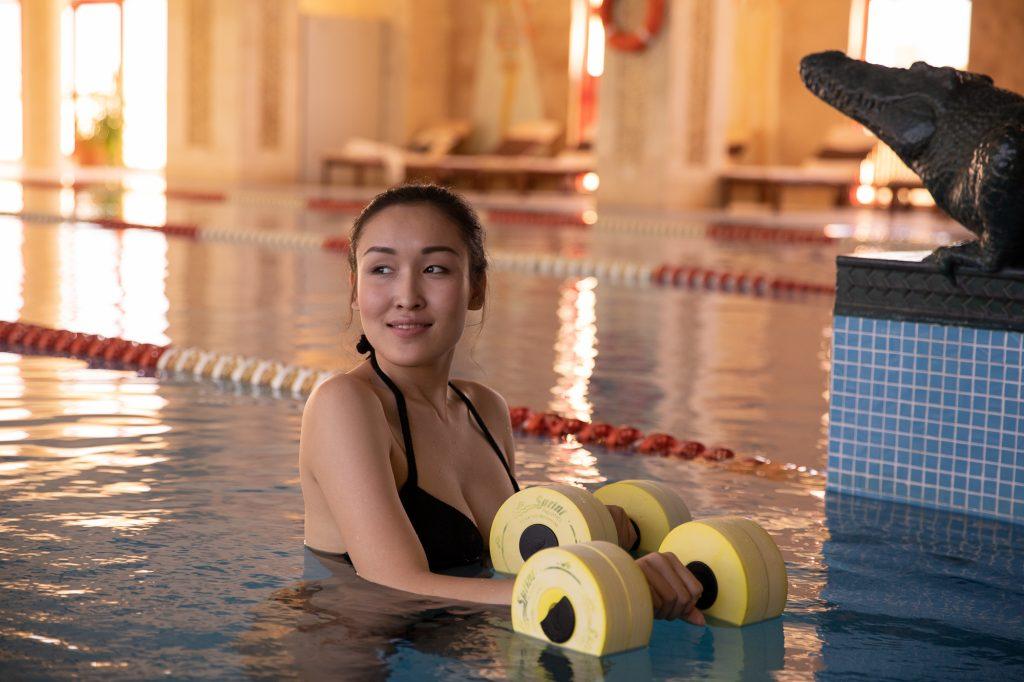 Тренировки на свежем воздухе – бассейн под открытом небом