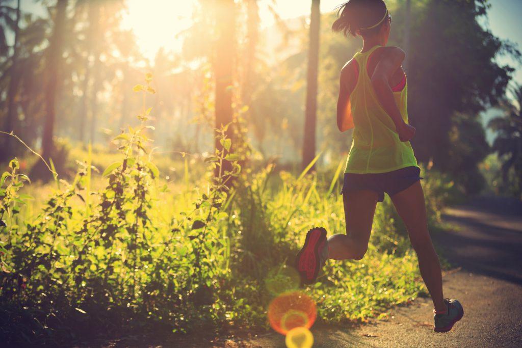 бег в жаркую погоду