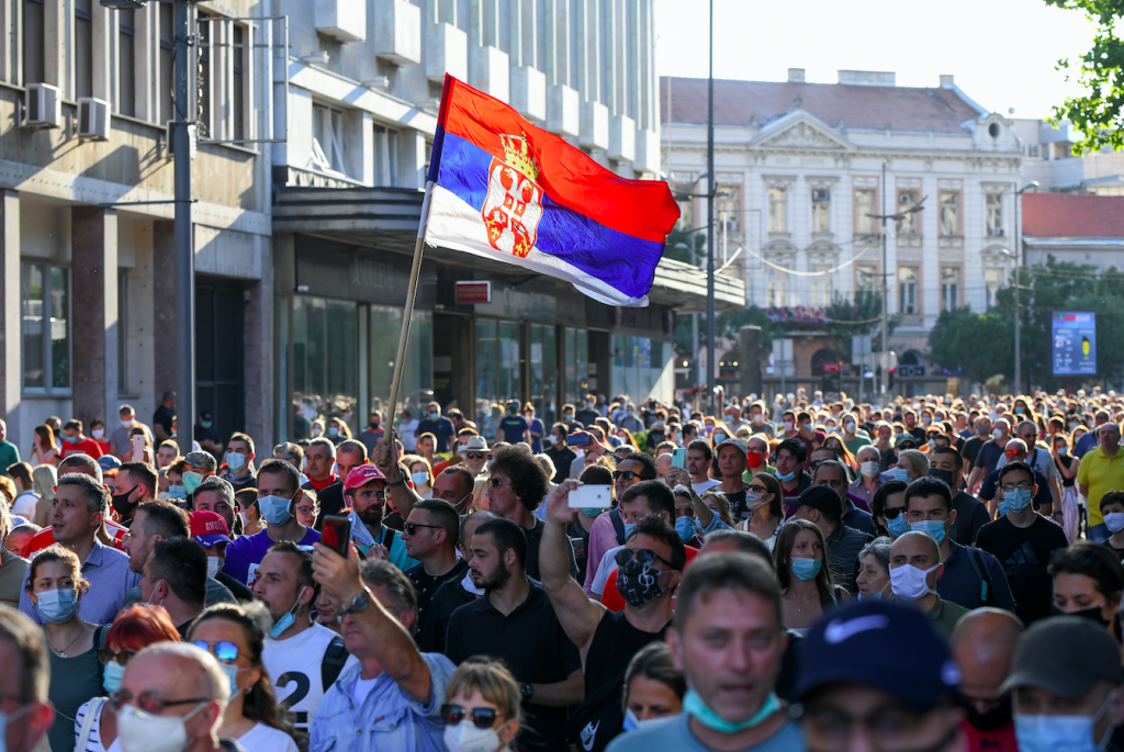 в Сербии начало расти число инфицированных