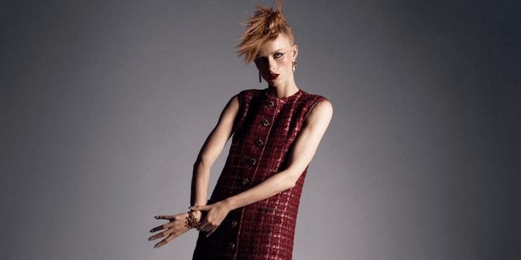 Как повторить макияж с показа Chanel Haute Couture 2021