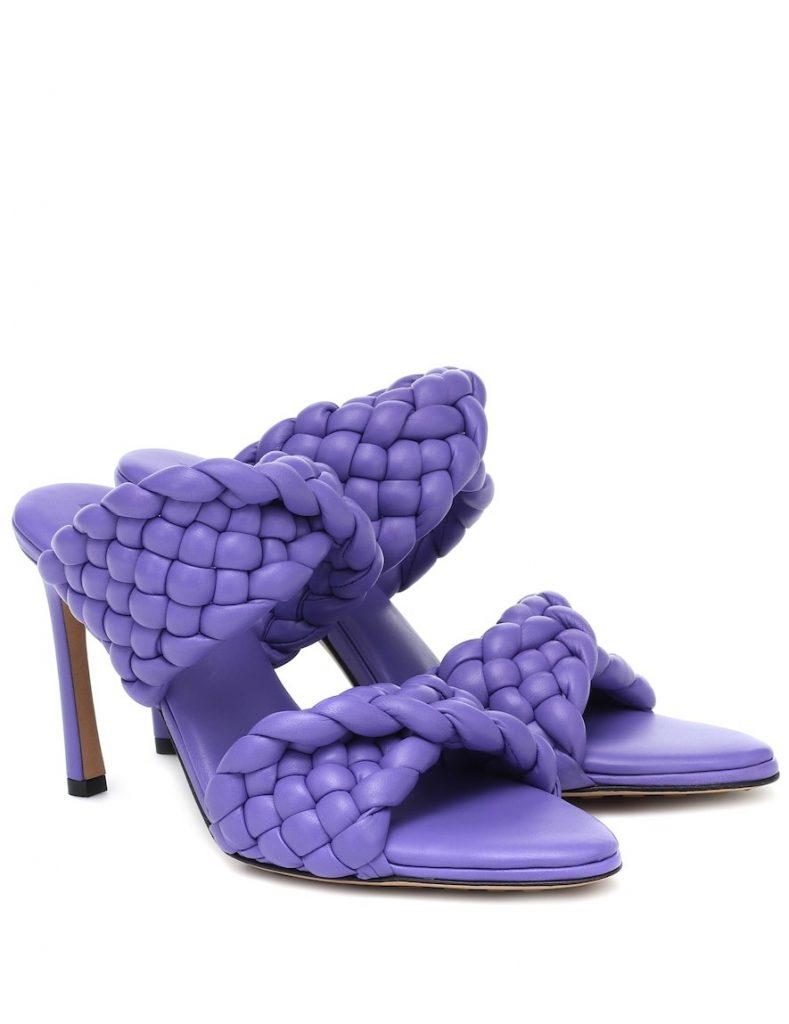 12 вариантов как носить лиловый цвет