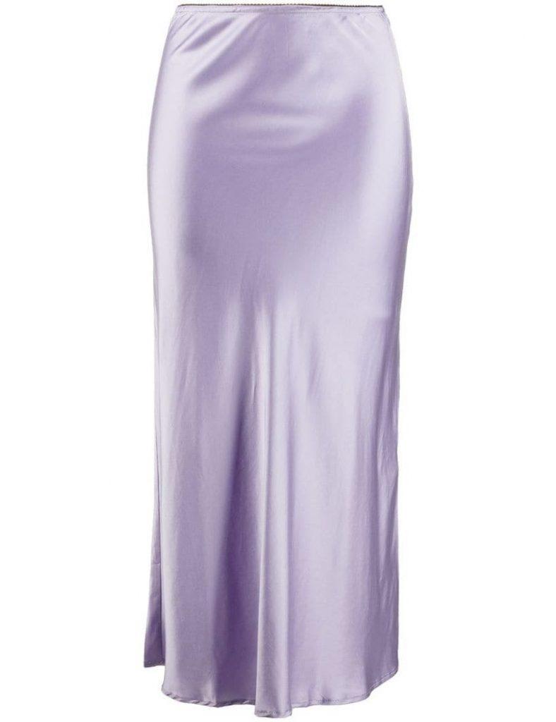 лиловая юбка