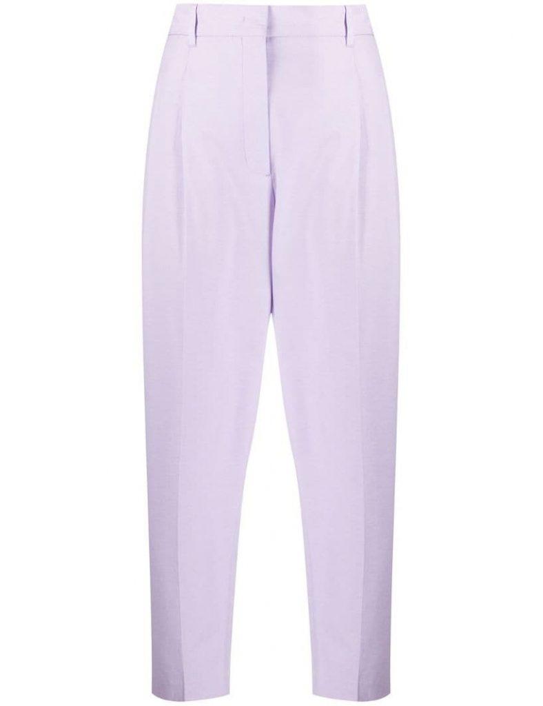 лиловые брюки