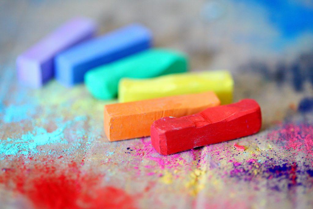 радуга и творчество