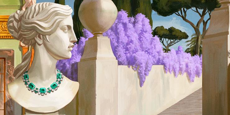 Великолепие и красота Рима в новой коллекции Bvlgari Barocko