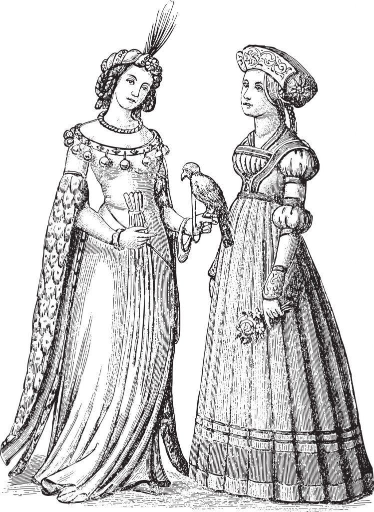 Средневековая нижнее белье