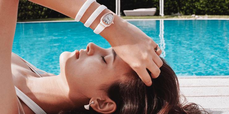 Беззаботное лето в новой рекламной кампании Bvlgari