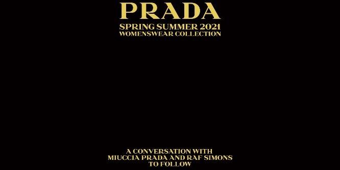 Prada Womenswear SS21: прямая трансляция показа