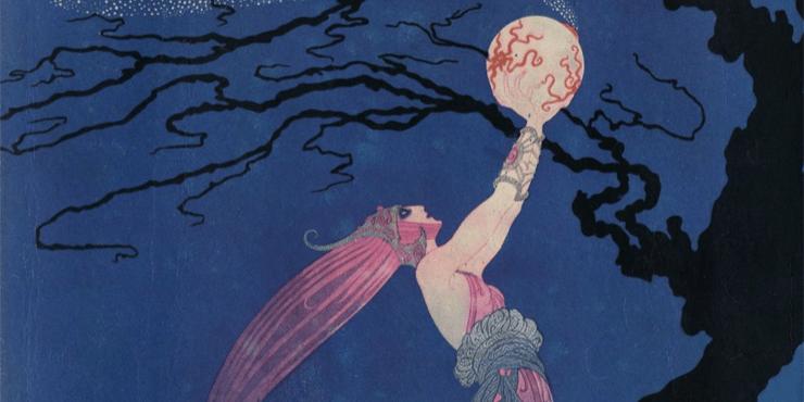 Это Bazaar: обложка майского номера 1918 года